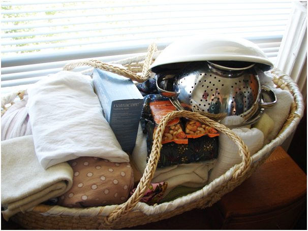Birth basket for home birth