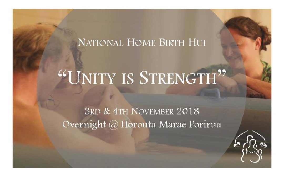 Home Birth Aotearoa National Hui 2018